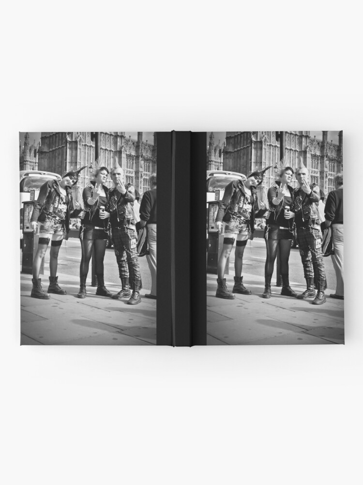Alternate view of Punks in London: Punk Rockers Hardcover Journal