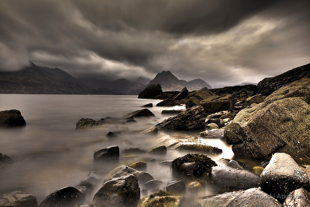 Elgol Rocks by Roddy Atkinson