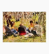 Sakura - Afternoon Picnic Photographic Print