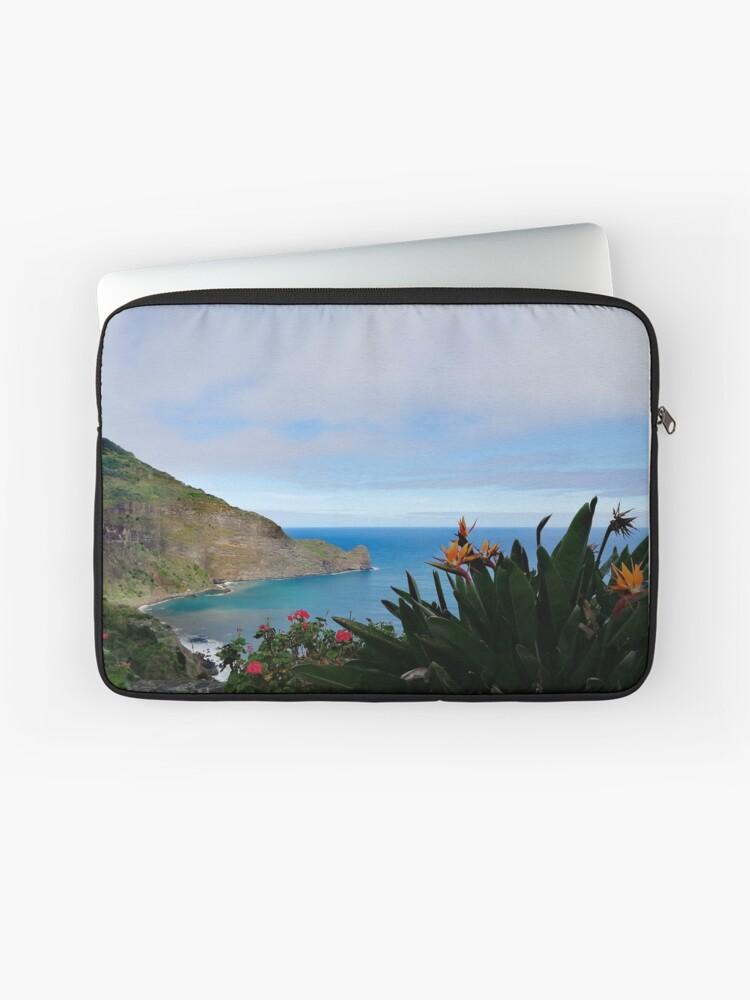 Fits Most Laptops MacBooks Zipper Sleeve Bag Cover Paisley Paradise