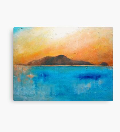 Sunset over there Canvas Print