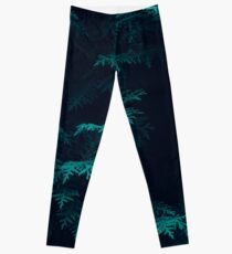Leaves texture Leggings