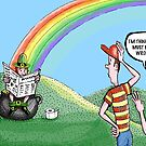 rainbows end by Jerel Baker