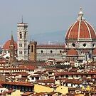 Piazza del Duomo Florence Italy by TerrillWelch