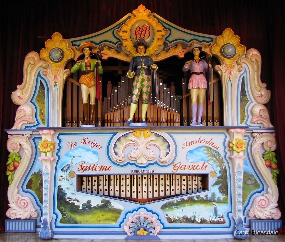 Street Organ by Carol Bleasdale