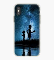 Rick und Morty im Weltall iPhone-Hülle & Cover