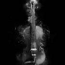 « Violon en noir et blanc » par Chrystelle Hubert