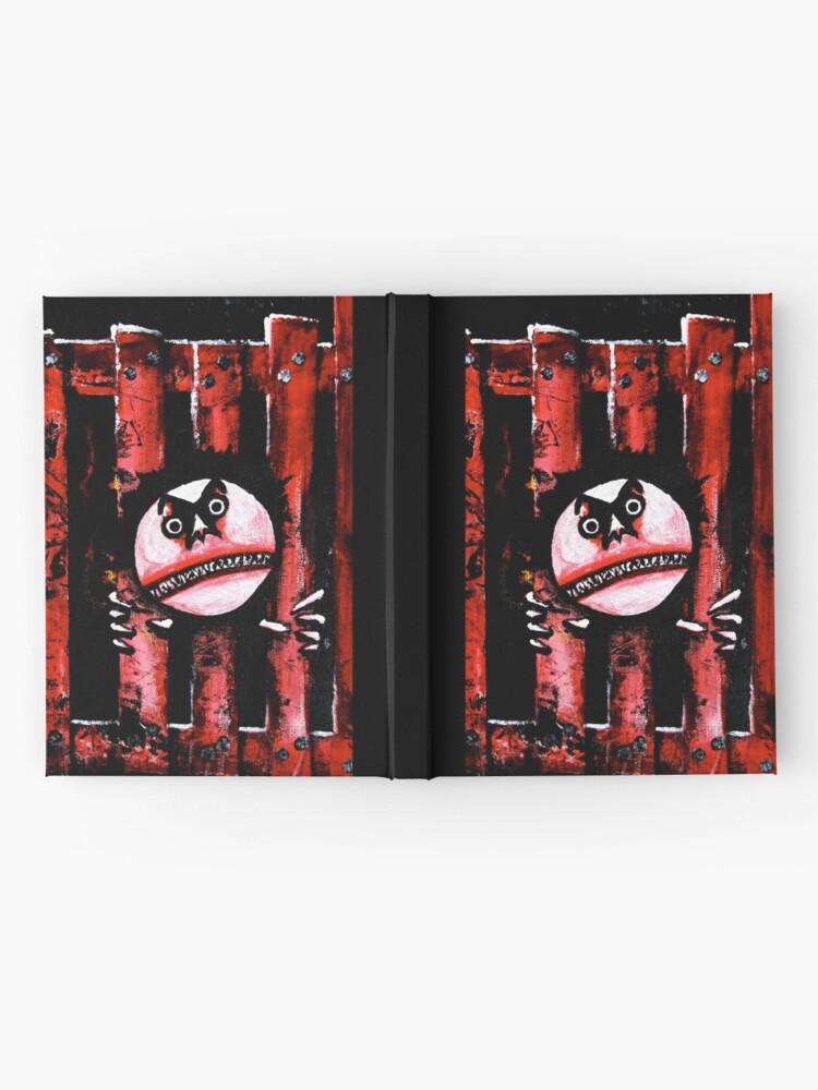 Alternate view of Rage Hardcover Journal