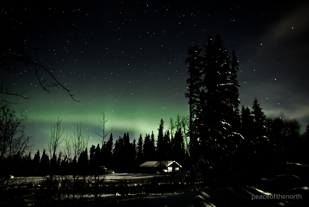 Antique Auroras Part 2 by peaceofthenorth