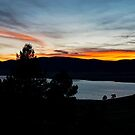 Sunset, Eagle Nest Lake State Park, New Mexico, USA by EricaRobbin