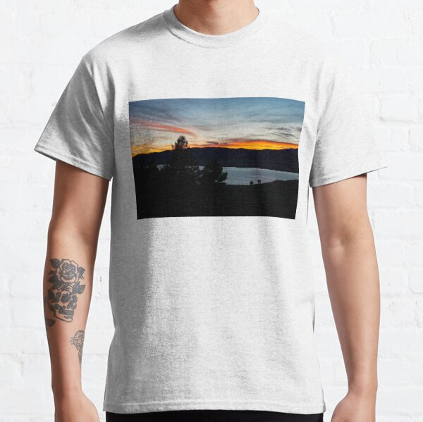 Sunset, Eagle Nest Lake State Park, New Mexico, USA Classic T-Shirt