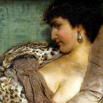 Cleopatra - Sir Lawrence Alma-Tadema by forgottenbeauty