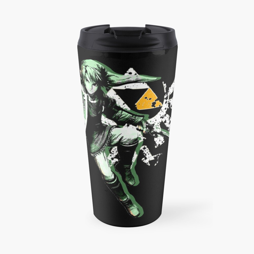 Triforce of Courage Thermobecher