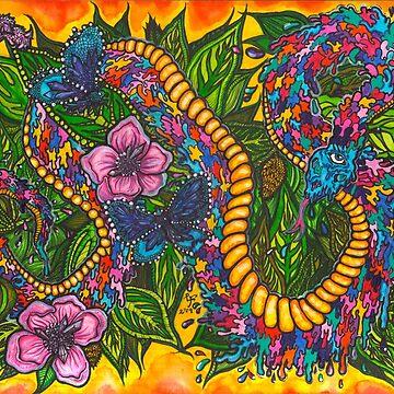 Metamorphic Meditation: Growth & Decay by LeftHandedLenya