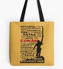 Tage des hohen Abenteuers (Conan) Tote Bag
