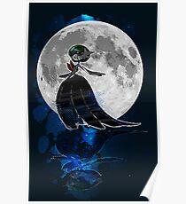 Gardevoir magische Nacht Poster