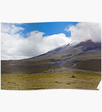 Cotopaxi National Park - Ecuador Poster