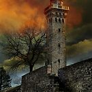 Fiery Tower by Lori Deiter