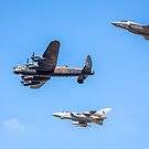 Lancaster - Tornado - Lightning - Military Air Power Past, Present and Future by Phototrinity