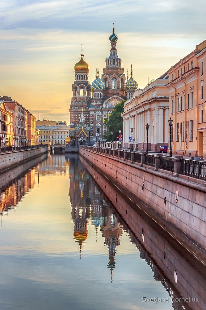 Church of the Savior on Blood, Saint Petersburg, Russia by Svetlana Korneliuk