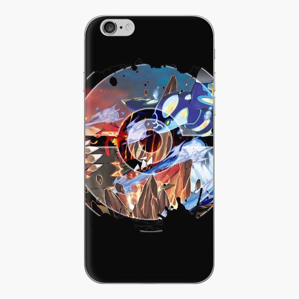 Groudon VS Kyogre - Primal Hoenn Battle iPhone Klebefolie