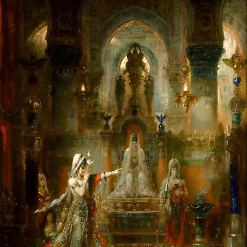 "Gustave Moreau ""Salomé Dancing before Herod"" by ALD1"