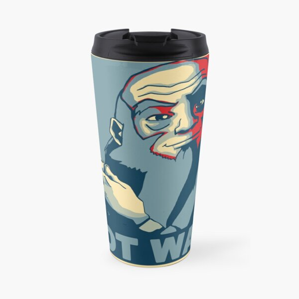 "Iroh ""Make Tea Not War"" Travel Mug"