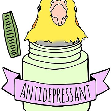 antidepressant birb by FandomizedRose