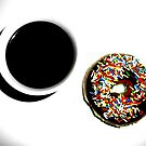 Damn Fine Coffee and Donut by Josephine Pugh