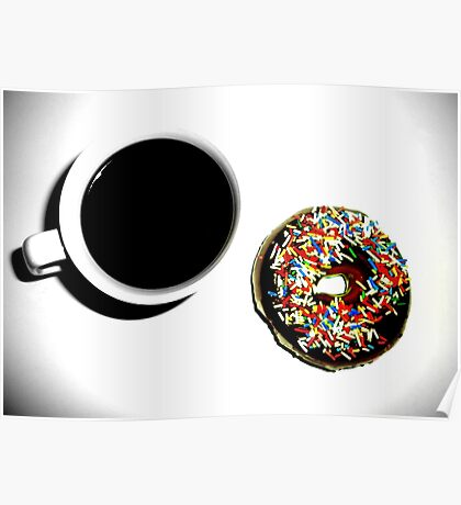 Damn Fine Coffee and Donut Poster