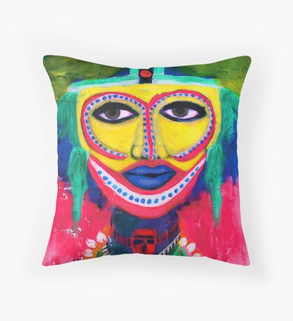 A dream of Africa 1 ( ethnic vision) Throw Pillow