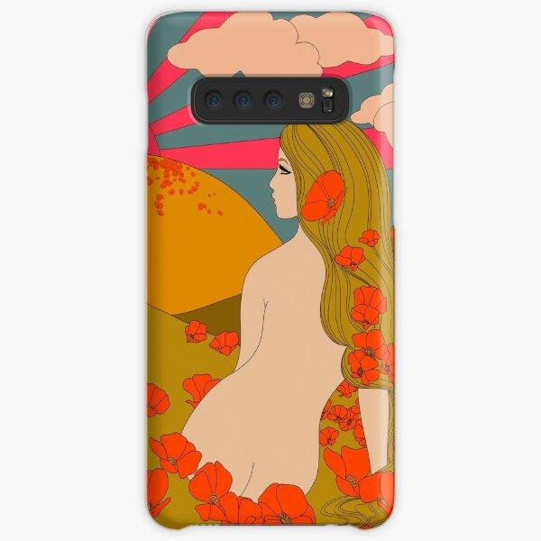 California Poppies Samsung Galaxy Snap Case