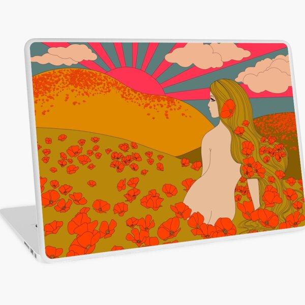 California Poppies Laptop Skin