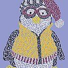 Hugsy The Penguin by Karotene