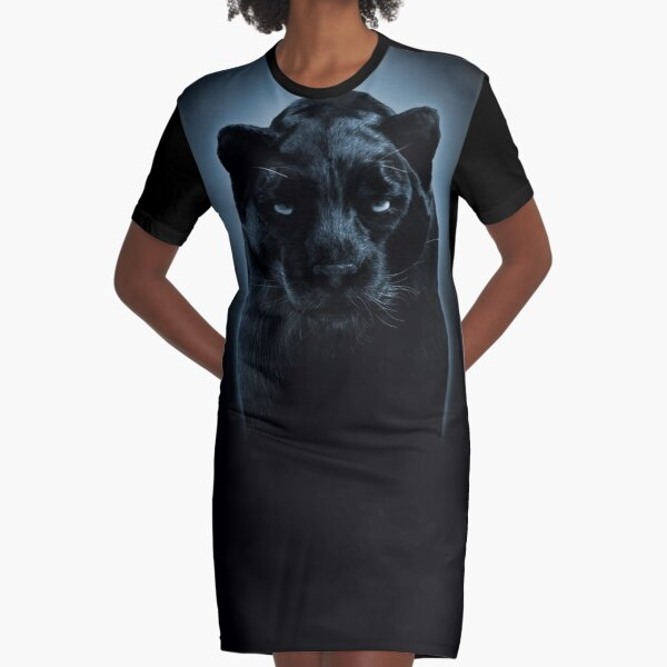 BLACK PANTHER Graphic T-Shirt Dress