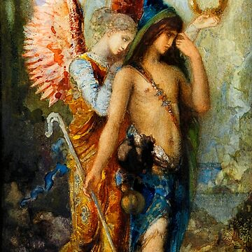 "Gustave Moreau ""The Voices. Hesiod And The Muse"" by ALD1"