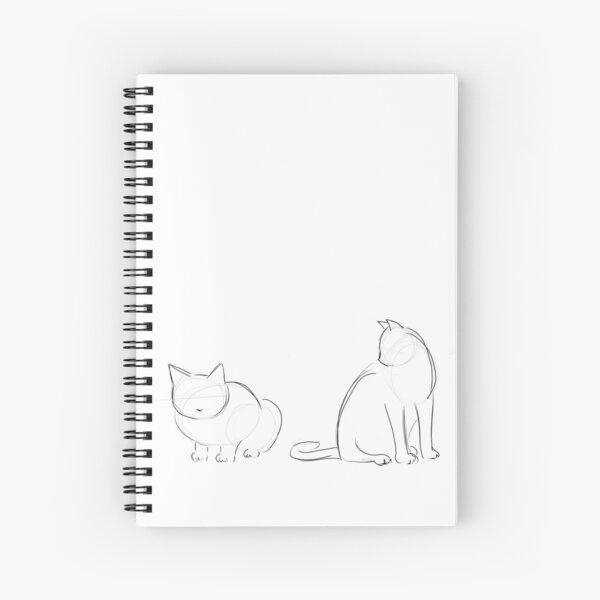 Katzenkonturen Spiralblock