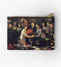 A political poster, the Soviet Union, Stalin, the leadership of the Soviet Union, the people, applause Studio Pouch