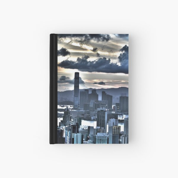HDRs - The ICC Building in Hong Kong Hardcover Journal