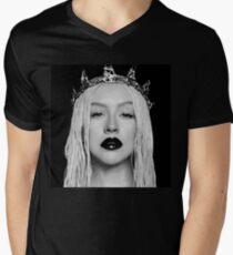 Christina Befreiung T-Shirt mit V-Ausschnitt