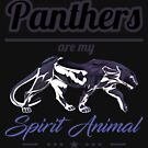 Panther - Panthers Are My Spirit Animal - Feline Cat Animal - Predator by stuch75