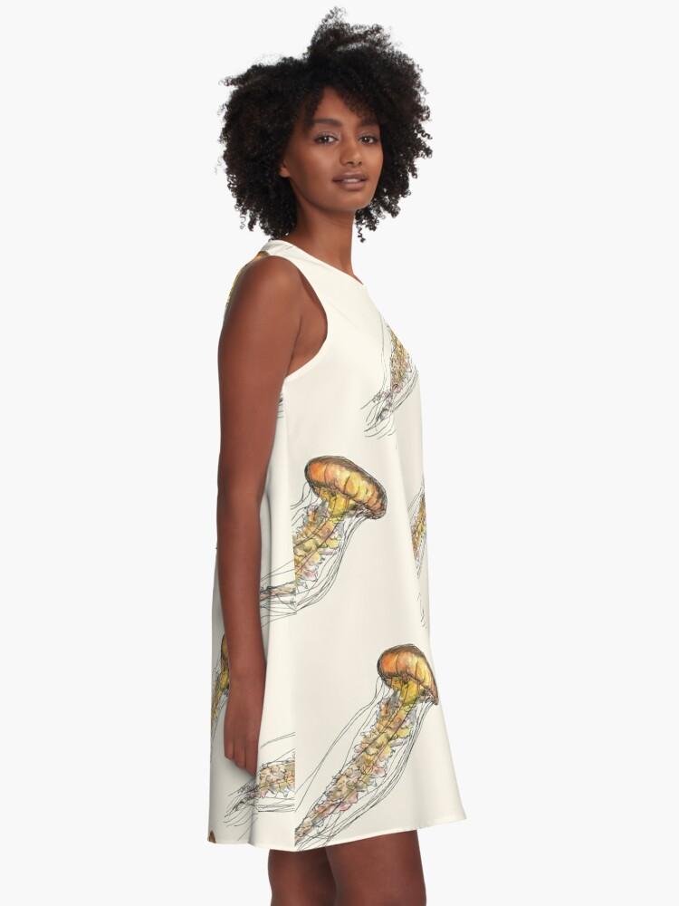 Alternate view of Jellyfish A-Line Dress