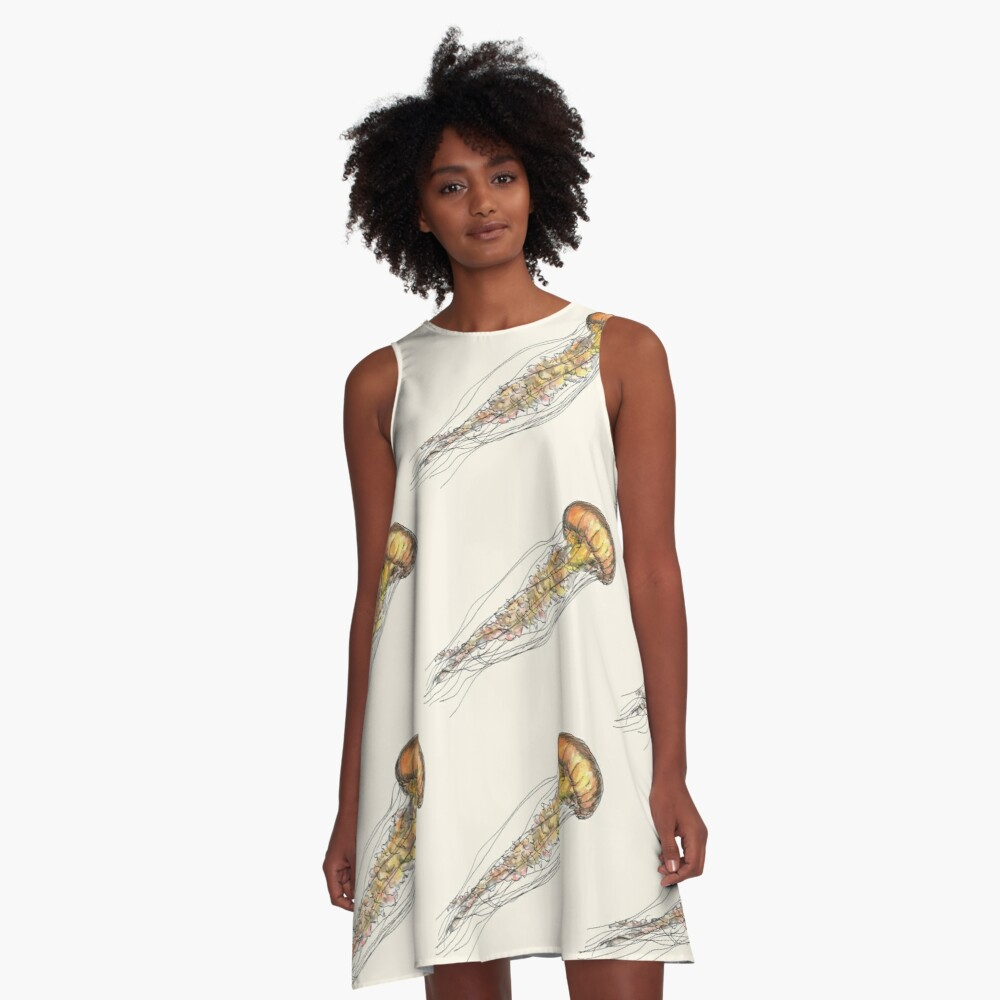 Jellyfish A-Line Dress