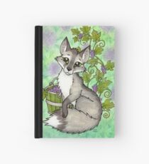 Fox and Grapes - Mixed Media Hardcover Journal