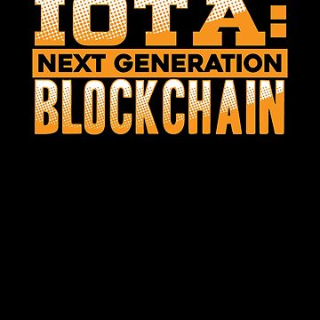 IOTA Crypto Next Generation Blockchain by perfectpresents