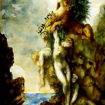 "Gustave Moreau ""The Victorious Sphinx""  by ALD1"