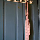 Abandoned pink tie by DariaGrippo