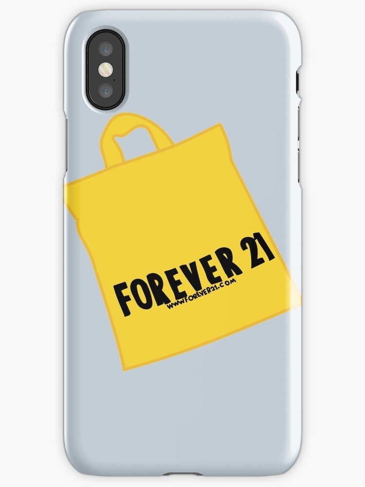 on sale f7708 74163 'Forever 21' iPhone Case by courtneygraben