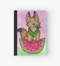 Melon Coyote - A Summertime Treat! Hardcover Journal