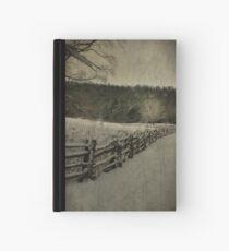 Along the Split Rail Fence Hardcover Journal